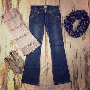 Hudson jeans Petite Signature Hackney Bootcut 25